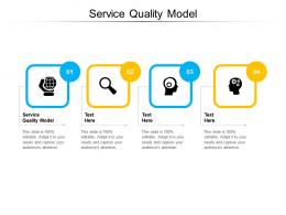Service Quality Model Ppt Powerpoint Presentation Layouts Outfit Cpb