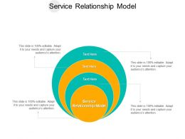 Service Relationship Model Ppt Powerpoint Presentation Summary Layouts Cpb