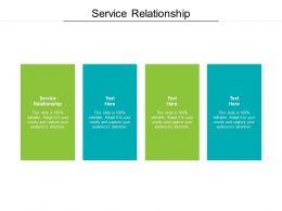 Service Relationship Ppt Powerpoint Presentation Inspiration Portfolio Cpb