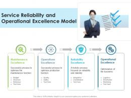 Service Reliability And Operational Excellence Model