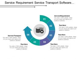 Service Requirement Service Transport Software Engineering Business Logic