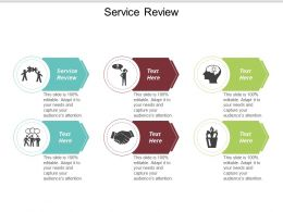 Service Review Ppt Powerpoint Presentation Gallery Example Introduction Cpb