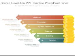 Service Revolution Ppt Template Powerpoint Slides