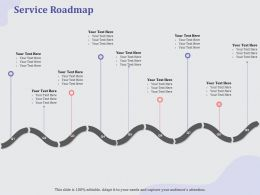 Service Roadmap L1921 Ppt Powerpoint Presentation Summary Backgrounds