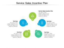 Service Sales Incentive Plan Ppt Powerpoint Presentation Icon Picture Cpb