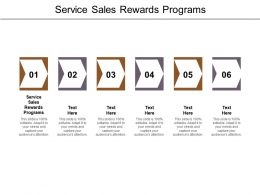 Service Sales Rewards Programs Ppt Powerpoint Presentation File Demonstration Cpb