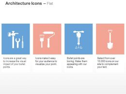 service_tools_paint_brush_roller_drill_scooper_ppt_icons_graphics_Slide01
