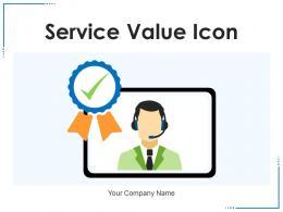 Service Value Icon Product Executive Customer Consumer Maintenance