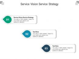 Service Vision Service Strategy Ppt Powerpoint Presentation Ideas Outfit Cpb