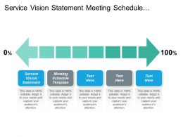 Service Vision Statement Meeting Schedule Template Business Plan Cpb