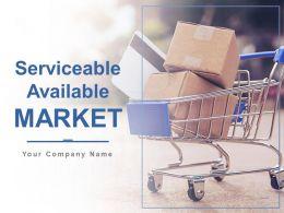 Serviceable Available Market Powerpoint Presentation Slides