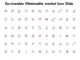 Serviceable Obtainable Market Icon Slide K243 Ppt Powerpoint Presentation Ideas Example