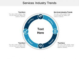 Services Industry Trends Ppt Powerpoint Presentation Styles Graphics Cpb