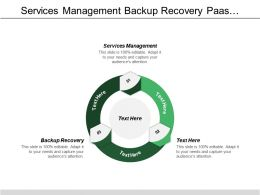 Services Management Backup Recovery Paas Consumer Application Development