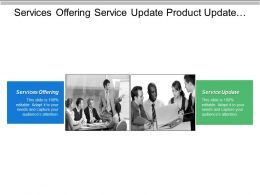Services Offering Service Update Product Update Analysis