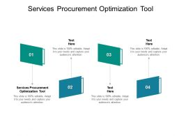 Services Procurement Optimization Tool Ppt Powerpoint Presentation Gallery Elements Cpb