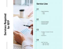 Services Required For RFP Ppt Powerpoint Presentation Portfolio Graphic Tips