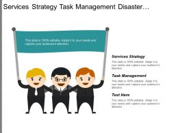 Services Strategy Task Management Disaster Recovery Contingency Planning Cpb