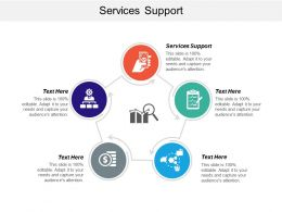 Services Support Ppt Powerpoint Presentation Ideas Slides Cpb