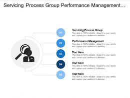 Servicing Process Group Performance Management Business Service Partnership