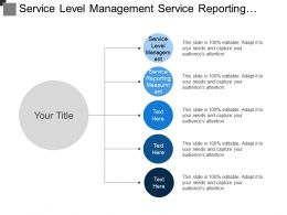 Servoice Leavel Management Service Reporting Measurment Action Program