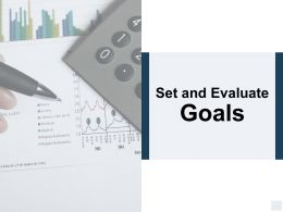 Set And Evaluate Goals Finance Ppt Powerpoint Presentation Icon Templates