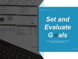 Set And Evaluate Goals Ppt Layouts Slide Download