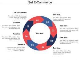 Set E Commerce Ppt Powerpoint Presentation Model Diagrams Cpb