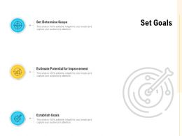 Set Goals Establish Goals Ppt Powerpoint Presentation Inspiration Aids