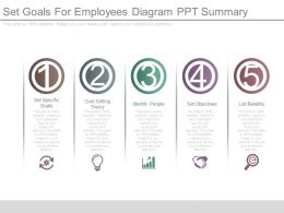 Set Goals For Employees Diagram Ppt Summary