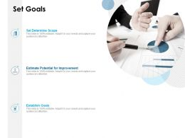 Set Goals Scope Involvement Ppt Powerpoint Presentation Pictures Master Slide