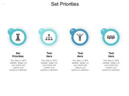 Set Priorities Ppt Powerpoint Presentation Infographics Example Topics Cpb