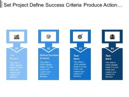 Set Project Define Success Criteria Produce Action Plan