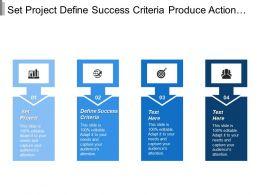 Set Project Define Success Criteria Produce Action Plan