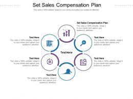 Set Sales Compensation Plan Ppt Powerpoint Presentation Infographics Design Templates Cpb
