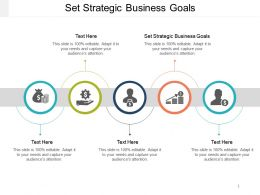 Set Strategic Business Goals Ppt Powerpoint Presentation Icon Example Introduction Cpb