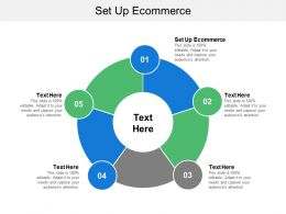 Set Up Ecommerce Ppt Powerpoint Presentation File Smartart Cpb