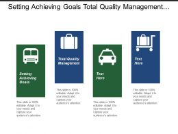 Setting Achieving Goals Total Quality Management Client Prospecting