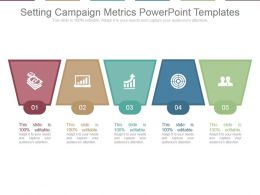 Setting Campaign Metrics Powerpoint Templates