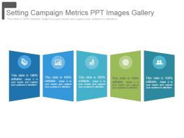 Setting Campaign Metrics Ppt Images Gallery