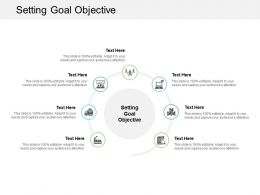 Setting Goal Objective Ppt Powerpoint Presentation Summary Example Cpb