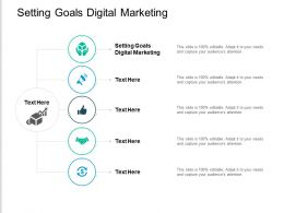 Setting Goals Digital Marketing Ppt Powerpoint Presentation Icon Gridlines Cpb