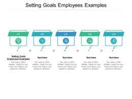 Setting Goals Employees Examples Ppt Powerpoint Presentation Professional Cpb