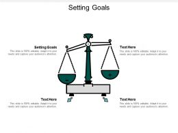 Setting Goals Ppt Powerpoint Presentation Gallery Background Images Cpb