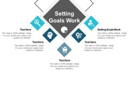 Setting Goals Work Ppt Powerpoint Presentation Diagram Images Cpb