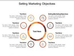 Setting Marketing Objectives Ppt Powerpoint Presentation Show Backgrounds Cpb