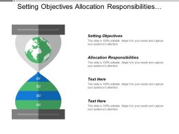 Setting Objectives Allocation Responsibilities Operational Efficiency Process Efficiency
