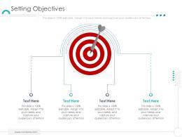 Setting Objectives Company Ethics Ppt Microsoft
