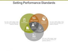 Setting Performance Standards Sample Ppt Files