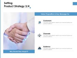 Setting Product Strategy Communication Ppt Powerpoint Presentation Portfolio Skills